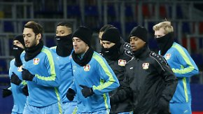 CL-Spiel gegen ZSKA Moskau: Leverkusen hofft auf vorzeitigen Einzug in K.o.-Runde