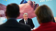 Bundespräsident erkrankt: Joachim Gauck bricht Jena-Besuch ab