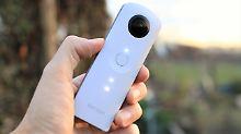 Theta SC für iPhone und Android: Ricoh baut 360-Grad-Kamera für alle
