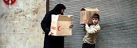 Appelle an Syriens Machthaber: UN-Lebensmittel in Aleppo sind aufgebraucht