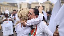 """""""Grüße an Donald Trump"""": Der neue Frieden von Farc und Kolumbien"""