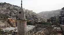 Angebliche Lärmbelästigung: Israel will Moschee-Lautsprecher verbieten