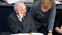 Die schwarze Null steht: Bundestag beschließt Haushalt 2017