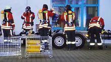 Brand in Baden-Württemberg: Weihnachtsmarkt vorübergehend geräumt
