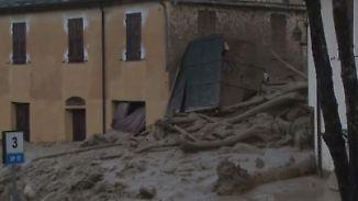 Nach Unwetter in Nordwestitalien: Schlammlawinen wälzen sich durch Provinz Ligurien