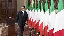 """Italiens Premierminister will bei einem """"Nein"""" zum Verfassungsreferendum zurücktreten. Das könnte die Eurozone erschüttern."""