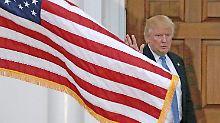 Flaggen-Verbrennen bestrafen?: Trump erfährt kräftigen Gegenwind