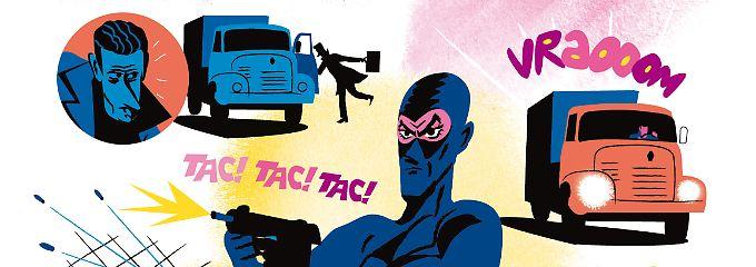 """""""Diabolik"""" war ein italienischer Comicheld der 60er - in """"Ein diabolischer Sommer"""" feiert er eine Wiederauferstehung."""