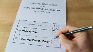 Kopf-an-Kopf-Rennen um die Hofburg: Österreichs Bevölkerung ist zerrissener denn je