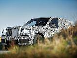 """Das SUV, das keins sein will: Rolls-Royce zeigt erste Bilder des """"Cullinan"""""""