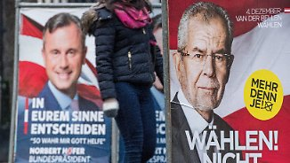 Kopf-an-Kopf-Rennen um die Hofburg: Hofer gibt sich diplomatisch, Van der Bellen hoffnungsvoll