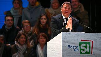 Italien am Scheideweg: Renzi kämpft um letzte Wählerstimmen