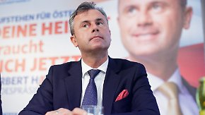 """Letzte Sticheleien vor der Wahl: Hofer: """"Müssen die Politiker austauschen"""""""