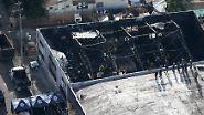 Mindestens 30 Tote bei Elektro-Party: Dutzende Menschen werden nach Lagerhaus-Brand vermisst
