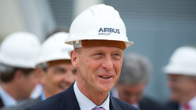 Airbus-Chef Enders erwartet schwierige Zeiten.