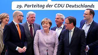 """""""Haben noch viele Aufgaben zu lösen"""": Merkel steht vor Wiederwahl bei Parteitag"""