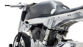 Der Motor der Vanguard übernimmt eine tragende Rolle.