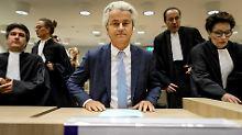 Umstrittene Marokkaner-Rede: Ist Wilders zu weit gegangen?