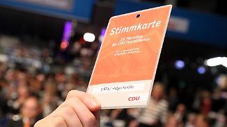Leitantrag verabschiedet: CDU verschärft Asylkurs