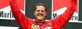 """Der einzige Deutsche, der es in das """"Forbes""""-Ranking schafft: Formel-1-Legende Michael Schumacher. Der siebenfache Champion verdient in seiner Karriere 1 Mrd US-Dollar und macht damit die Top fünf voll."""