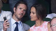 George und Charlotte sind dabei: So feiert Pippa Middleton Hochzeit