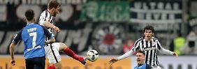 Überraschungsteams auf gleicher Höhe: Eintracht schiebt Nullnummer mit Hoffenheim
