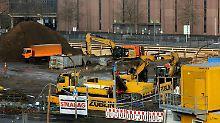 Zehn Zentner wiegt die Bombe, die nahe des Deutzer Bahnhofs in Köln gefunden wurde.