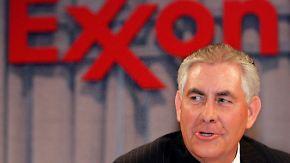 Ein Team aus Unternehmern: Trump will ExxonMobil-Chef als Außenminister
