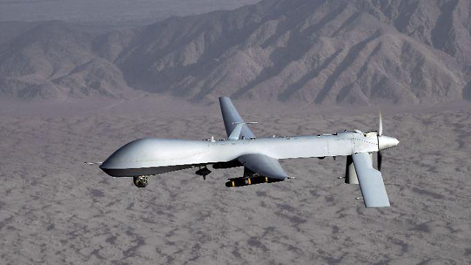 Eine Predator-Drohne der US-Streitkräfte.