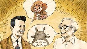 Igort traf auch andere Künstler wie den Anime-Regisseur Hayao Miyazaki.