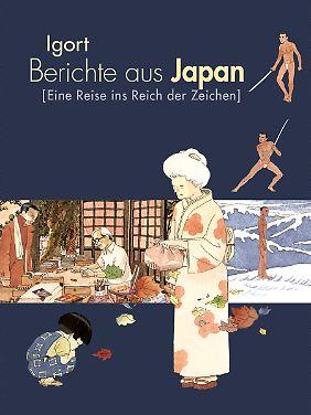 """""""Berichte aus Japan"""" ist bei Reprodukt erschienen, 184 Seiten in Klappenbroschur, 24 Euro."""