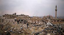 Dringlichkeitssitzung in New York: UN-Sicherheitsrat tagt wegen Aleppo