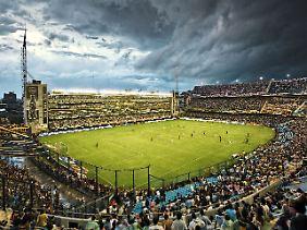 """La Bombonera"": Hier feiern die Boca Juniors."
