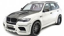 Kantig mit viel Karbon: Der BMW X5 M von Hamann.