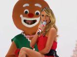 Jetzt singt sie auch noch!: Heidi Klum macht das Santa Baby