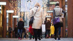 Händler erwarten Rekordjahr: Terrorangst dämpft Weihnachtsgeschäft nur kurz