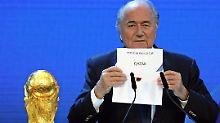 Katar hatte 2010 den Zuschlag für die WM 2022 erhalten.