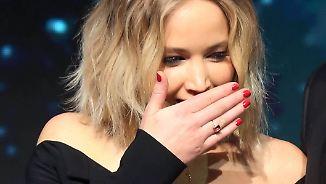Promi-News des Tages: Jennifer Lawrence gehen Sex-Fragen zu weit