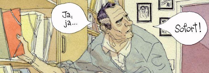"""""""Jäger und Sammler"""": Vincent ist genervt - von allem."""