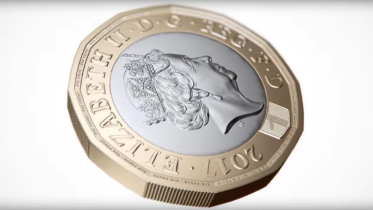 engl pfund coin münze 1 850