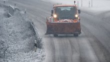 Schnee, Matsch, Glätte: Drei Tote auf winterlichen Straßen