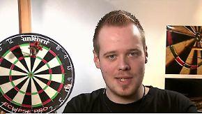 """Max Hopp zum Darts-Finale: """"Van Gerwen ist eine Klasse besser als alle anderen"""""""