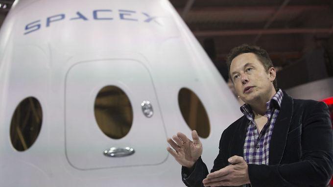 Elon Musk hat einen Traum: Leben auf dem Mars.