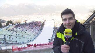 Kyrill Ring zum Skispringen in Innsbruck: Wie sich der Bergisel gewandelt hat