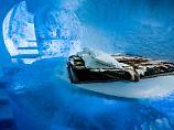 Winter auch im Sommer: Schwedens Eishotel bietet immer Iglu-Feeling