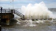 Die Sturmflut preschte mit Wasserhöhen von bis zu 1,80 Metern über Normal an die Gestade.