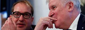 """Interview mit Alexander Dobrindt: """"Die Obergrenze ist zentral für eine Koalition"""""""