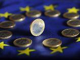 Fünfmonatshoch, dann abwärts: Macron-Sieg schüttelt Euro durch