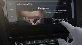Die Infosysteme bei VW sollen weiterhin intuitiv bleiben.