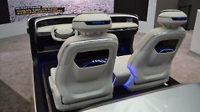 So oder ähnlich könnte das Cockpit in einem Hyundai in Zukunft aussehen.